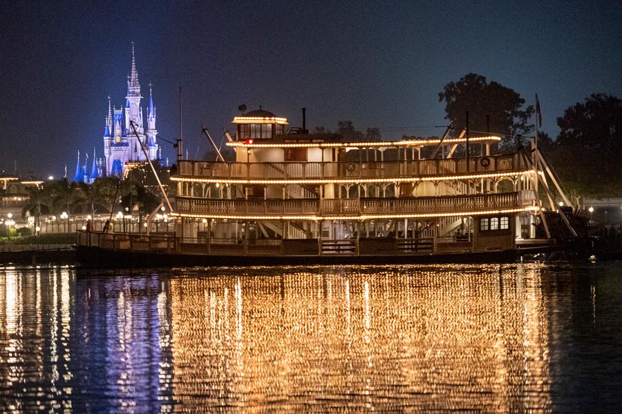 Liberty Belle Sets Sail Across Bay Lake to Return to Magic Kingdom Park