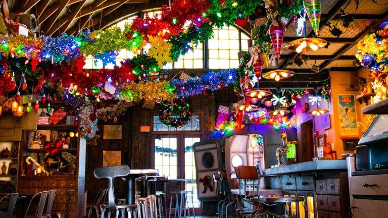 Jock Lindsey's Holiday Bar at Disney Springs!