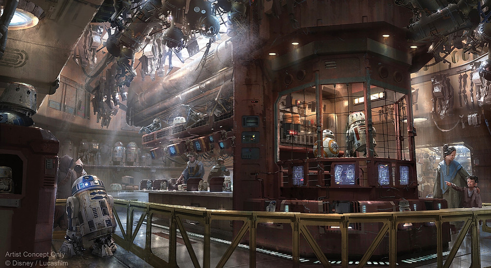 Pricing to Assemble a Custom Astromech Droid at Star Wars: Galaxy's Edge in Disneyland Released