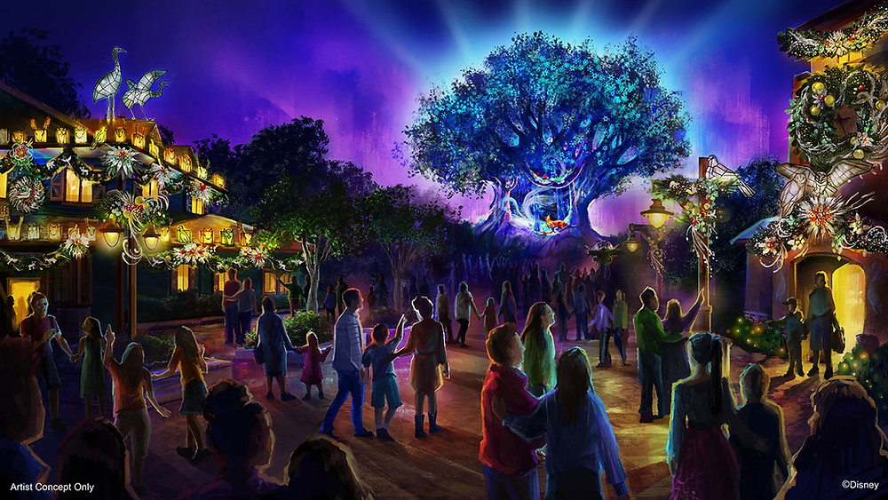 SNEAK PEEK: Holiday Awakenings on the Tree of Life at Disney's Animal Kingdom