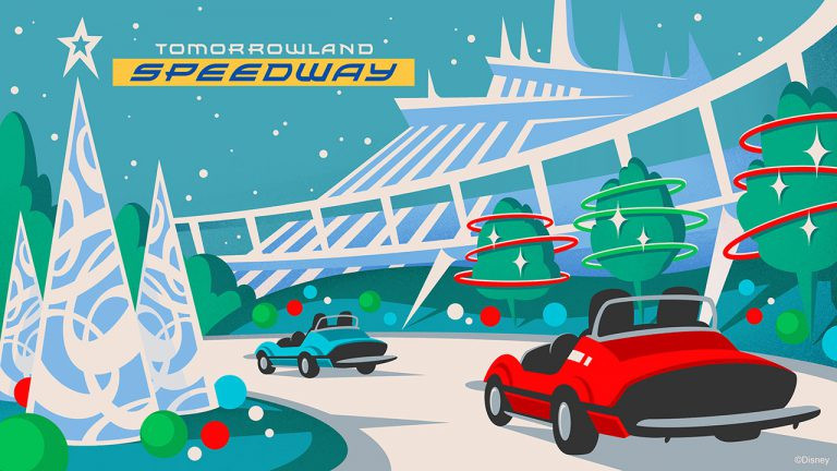 Magic Kingdom Park Attractions Get an All-New Holiday Look for Mickey's Very Merry Christmas Party