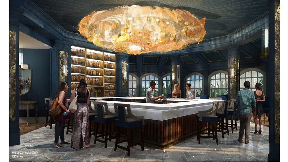 Enchanted Rose - A Beauty & The Beast Inspired Lounge Coming to Disney's Grand Floridian Resort Soon