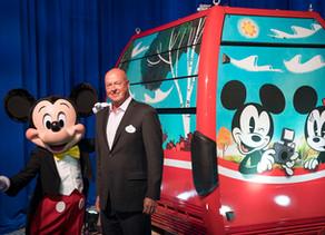 First Look at the Disney Skyliner Gondola Coming to Walt Disney World Resort!
