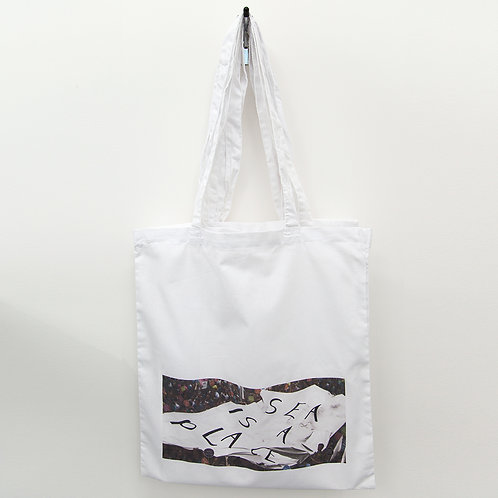 SEA IS A PLACE Protest Tote Bag
