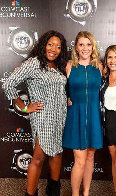 NBC Short Cuts Festival Finals in Los Angeles with Amy Rose Schumacher and Larisa Peters