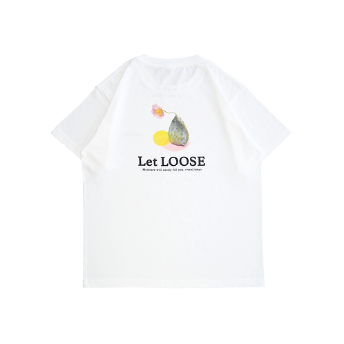 Let LOOSEGRAPHIC S/S T-SHIRT
