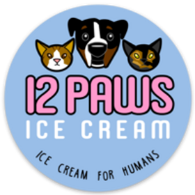 Sticker (12 Paws Logo)