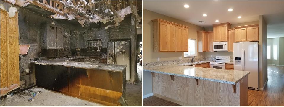 Restoration Before & After