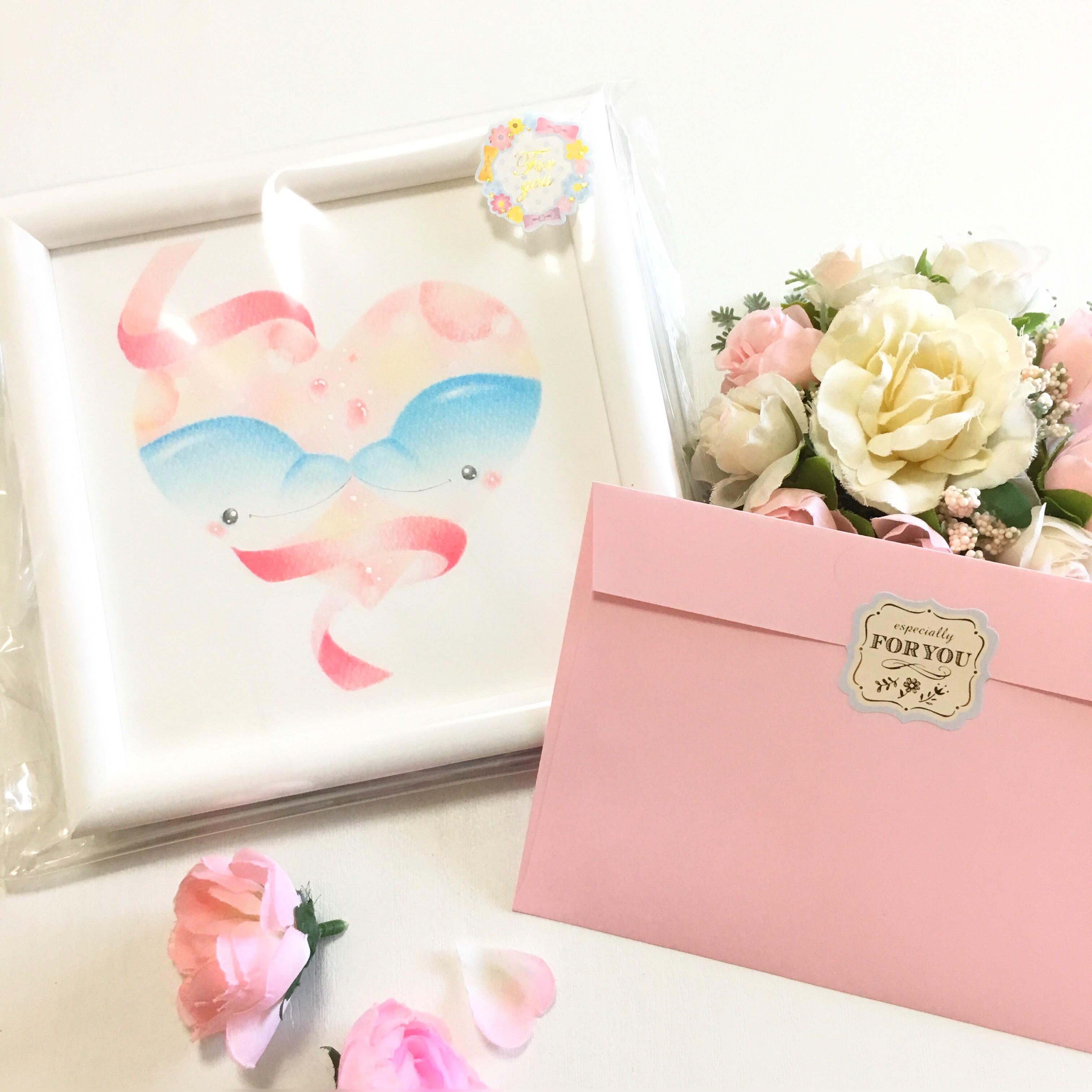 イルカアート 可愛い ピンク
