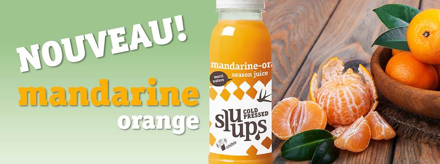 sluups Madarine Orange Season Okt 2020 F
