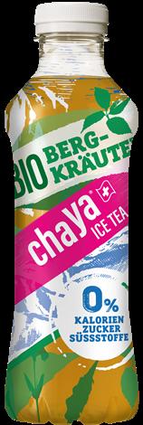 chaYa Bio-Eistee 0 Kalorien Bergkraeuter