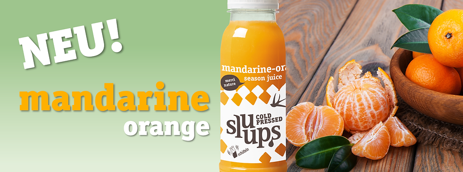 sluups Madarine Orange Season Okt 2020 D