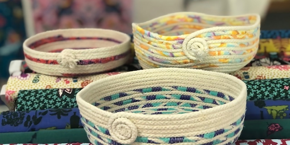 Sold out - Personalised Rope Bowl Workshop 8th May