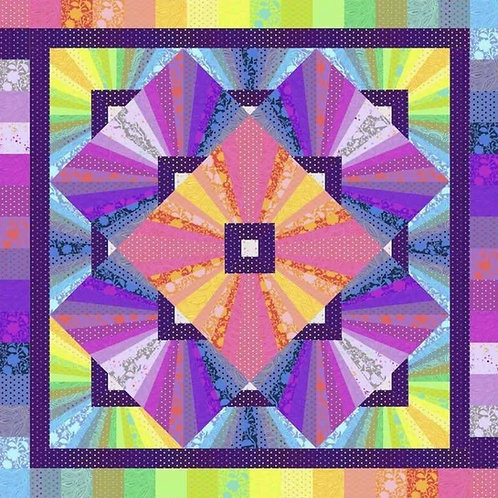Solar Flare Tula Pink Quilt kit