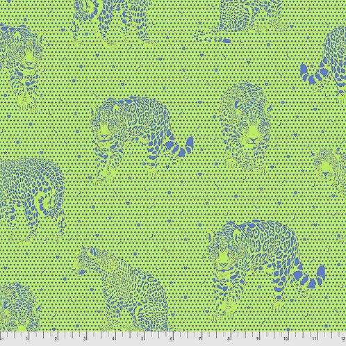 Tula Pink Daydreamer Kiwi Lil Jaguars