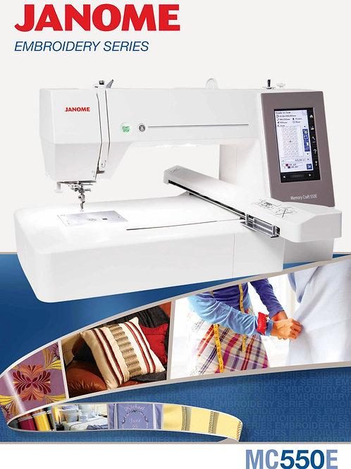 Janome 550e EmbroideryMachine