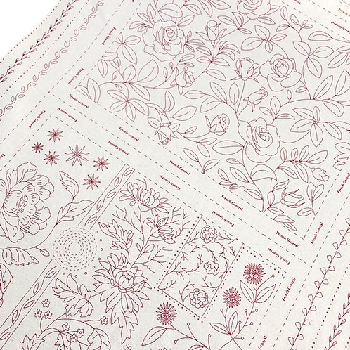French General Broderie Linen