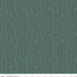 Flannel Woodland - Woodgrain Green