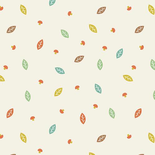 Flannel Woodland - Parchment Leaf