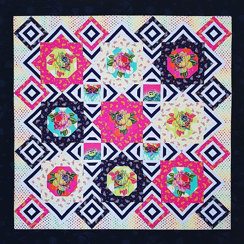 Tres Belle EPP and Fabric Kit