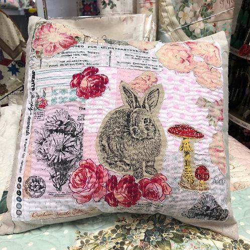 Collage Boro Cushion