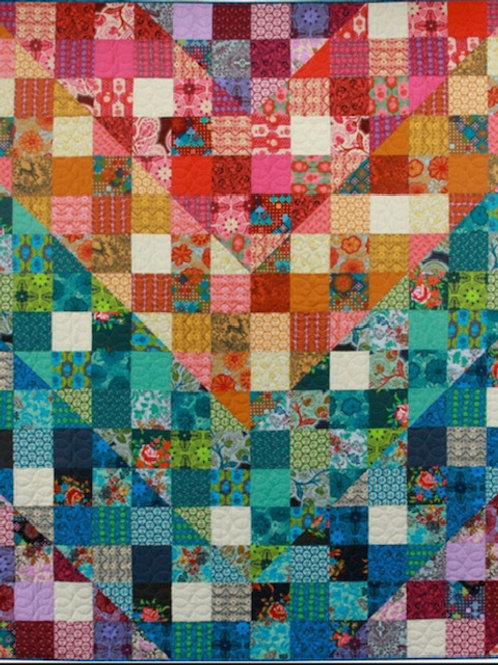 Colordive Quilt PDF Pattern by Anna Maria Horner