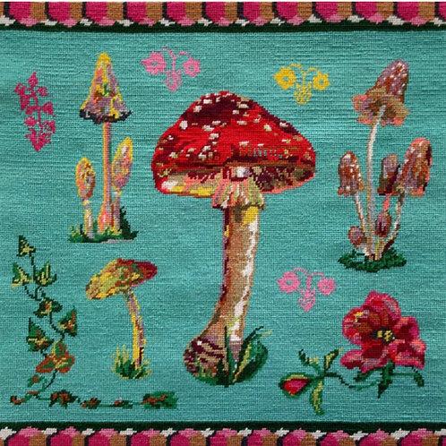 Needlepoint kit 'Beautiful Mushrooms' by NathalieLete