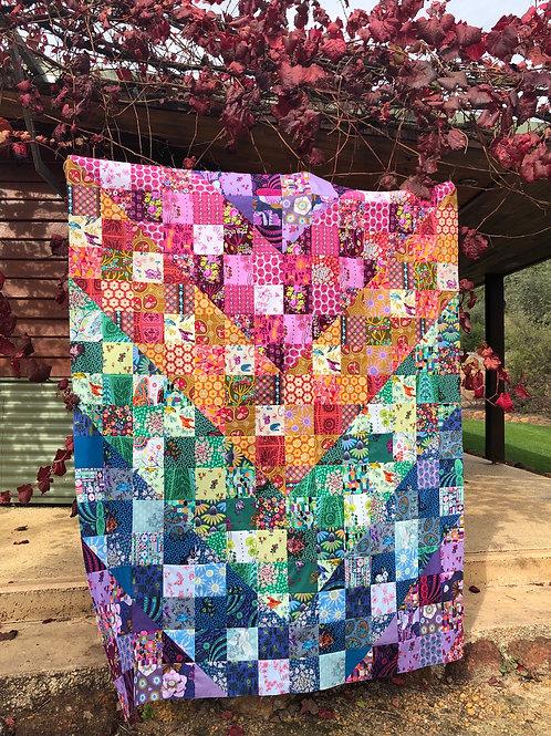 Colordive Quilt Kit