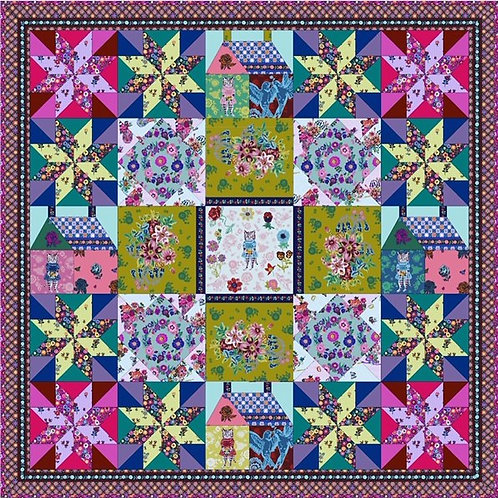 Sunday in the Country Quilt Kit by Anna Maria Horner