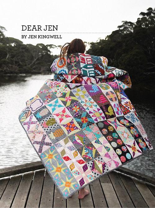 Dear Jen Quilt Pattern (pick up only)