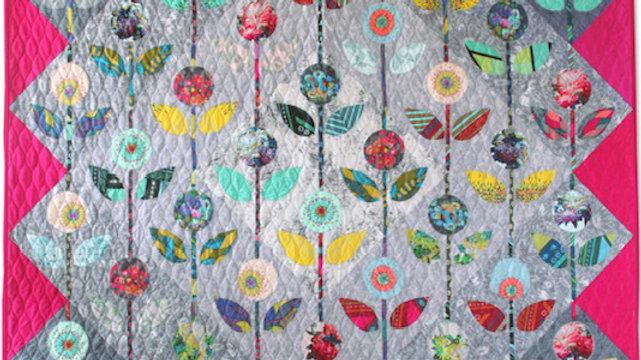 Folk Flower PDF Pattern
