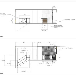 home renovation drawings page f  letter format
