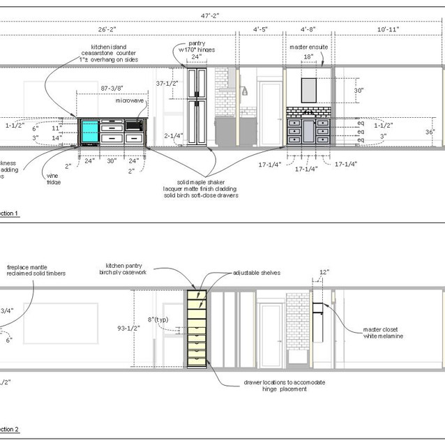 home renovation drawing page d  letter format