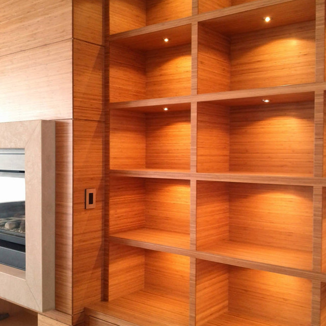 Bamboo millwork