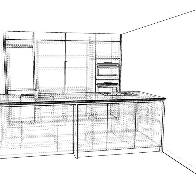 millwork package for project in the West End.  Animation created for client consideration by David Salls