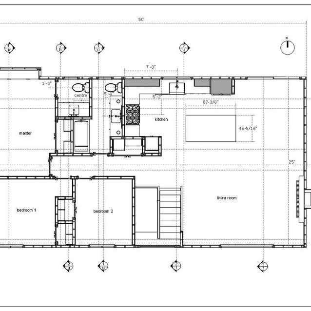 home renovation plan view  letter format
