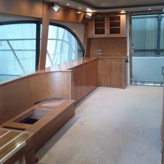 yacht renovation millwork