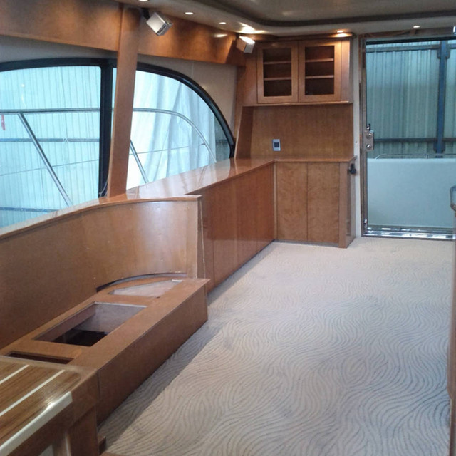 yacht renovation millwork