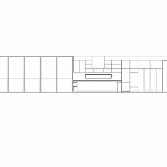 Millwork design concept for a home in Kitsilano by David Salls