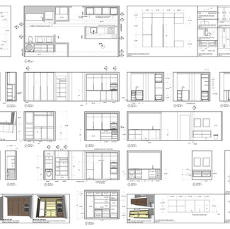 apartment millwork package drawings  A2 format
