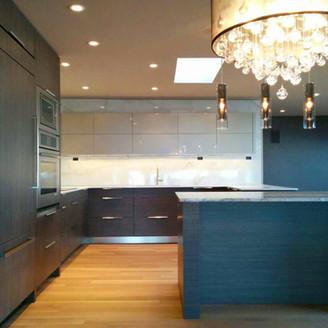 integrated kitchen millwork