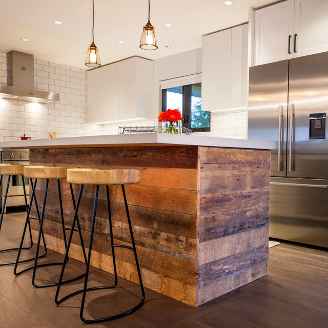 Barnwood island kitchen Burnaby