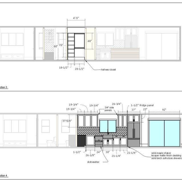 home renovation drawings page i  letter format