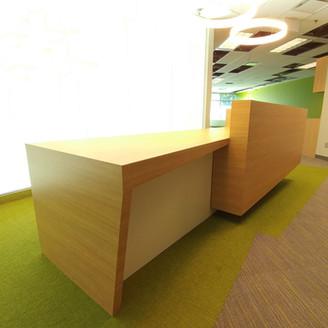 reception desk in Burnaby