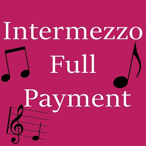 Intermezzo Full Payment