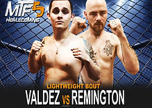 VALDEZ VS REMINGTON - FIGHT CARD MTF 5.j