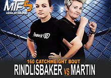 RINDLISBAKER VS MARTIN - FIGHT CARD MTF