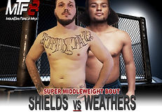 SHIELDS VS WEATHERS - FIGHT CARD MTF 8.j