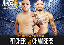 PITCHER VS CHAMBERS - FIGHT CARD MTF 5.j