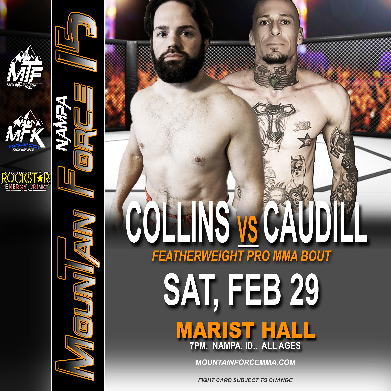 MTF 15 POSTER 2 - COLLINS VS CAUDILL